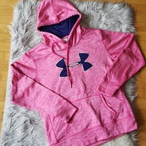 👑 UNDER ARMOUR: FRONT POUCH PULLOVER HOODIE!